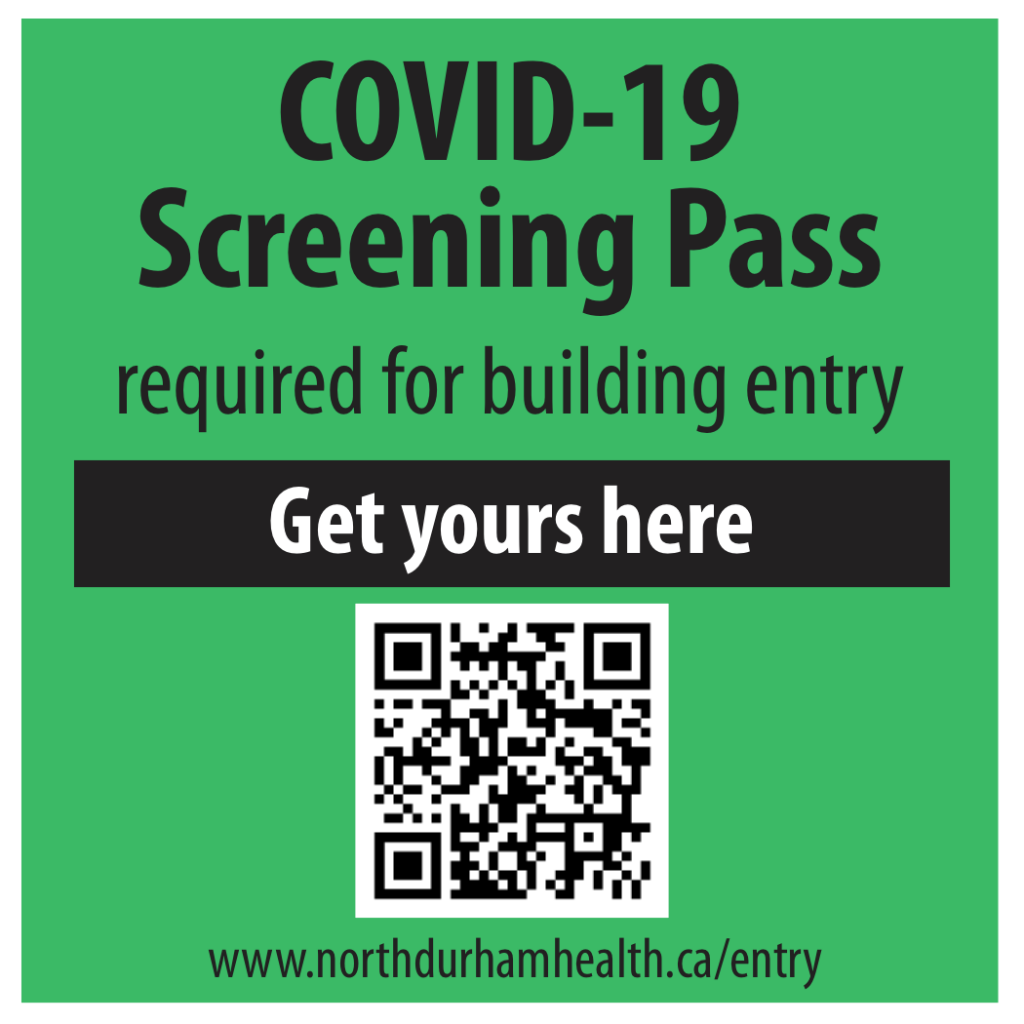 Click here to obtain a COVID screening pass for building entry